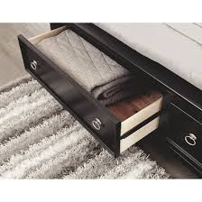 Signature Design By Ashley Greensburg Black Storage Sleigh Bed   Free  Shipping Today   Overstock   16573603