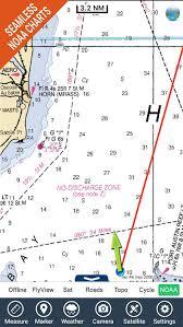 Saginaw Bay Michigan Hd Gps Chart Navigator By Flytomap