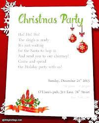 Free Christmas Invitation Template Company Holiday Party Invitation Templates Free Employee