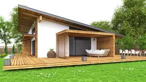 Awesome Maison Moderne En Bois En Kit Gallery Amazing House Amenagement Maison Bois Kit Plain Pied Moderne Modele H Becokit