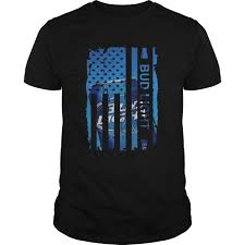 Funny Bud Light Shirts Bud Light Us Flag Shirts Funny T Shirt Store Online Shopping
