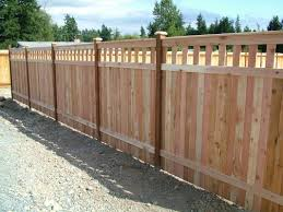 inexpensive fence styles. Inexpensive Alternative Design For Craftsman Style Privacy Fence. Fence Styles A