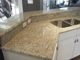 Kashmir Gold Granite Kitchen White Kitchen Cabinets With Sedna Granite Countertops Granite