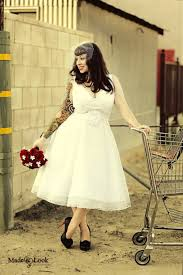 etsy tea length wedding dress. vintage wedding gowns_tea length dress \u2013 retro style inspired etsy shop: bridalblissdesigns made tea