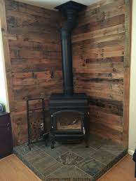 Wood Stove Wall Design Ideas Hawk Haven Best Wood Stove Backsplash Exterior