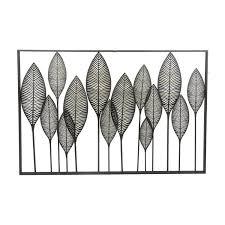 metal leaves wall decor metal leaf wall decor perfect decorative wall hooks