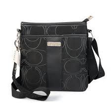 Coach Swingpack In Signature Small Black Crossbody Bags ZG498671 ITO