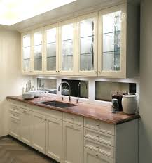 antiqued mirror tiles backsplash awesome white wooden kitchen cabinet set  with mirror awesome white wooden kitchen