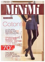 Купить <b>Колготки MiNiMi</b> Cotonfill <b>70 den</b>, размер 3-M, beige по ...