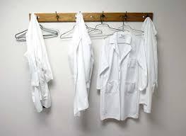 Lab Coat Rack Enchanting Take Five Lab Coats Hang On A Coat Rack At The University Of