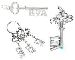 key pendants personalised