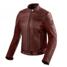 motorcycle leather jacket revit clare woman red leather motorcycle jackets