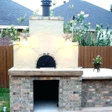 outdoor pizza oven fireplace combo wild and plans kit