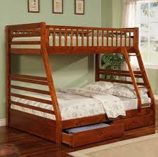 casual style twin full bunk bed