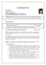 Resume For Full Time Job Best of Puja Updated Resume HR Profile 24