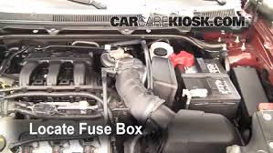 replace a fuse 2009 2016 ford flex 2009 ford flex sel 3 5l v6