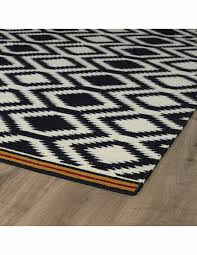tribal diamonds nomad rug in black black and white tribal area rug