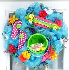 diy wreath ideas for summer image via fun summer inspired wreaths to spice up your front diy wreath ideas for summer