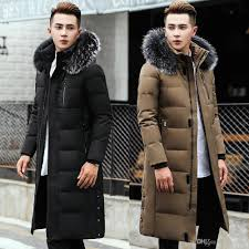 2019 duck down parkas mens winter jackets fur hoos long down coat snow outwear overcoat warm thickening big size 5xl 6xl 2017 hot from tomwei