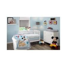 mickey mouse crib bedding set disney