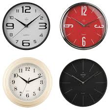 office wall clocks large. Clocks, Office Wall Clock Unique Clocks Four With Different Color From Red Large O