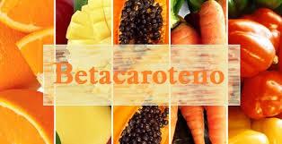 Resultado de imagen de betacaroteno