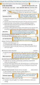 Gallery Of Recent College Graduate Resume College Graduate Resume