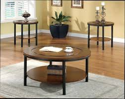 modern circular coffee table round with chairs