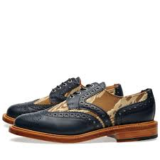 Mark Mcnairy Leather Sole Two Tone Camo Brogue
