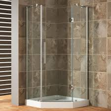 showers for small bathrooms 2. Corner Shower Stalls For Small Bathrooms 2 Piece Acrylx Acrylic Finished Bath And Kit With Left Hand Drain In White Sliding Bathtub Door Glass Panels Showers