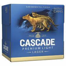 Cascade Premium Light Cascade Premium Light Beer 4x6x375ml Cans