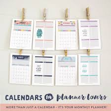 planning calendar template 2018 free printable 2018 wall calendar hand lettered