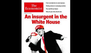 economist cover the economist cover shows trump throwing molotov cocktail