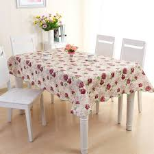 oilcloth tablecloths rectangle pvc tablecloth waterproof table cover party picnic round tablecloth