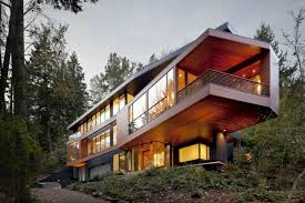Hoke House in Portland, Oregon. Designed by Skylab Architecture. Also the  Cullen home in the Twilight Saga. | Pinterest | Twilight saga, Portland  oregon and ...