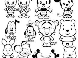 Disney Tsum Tsum Coloring Pages At Getdrawingscom Free For