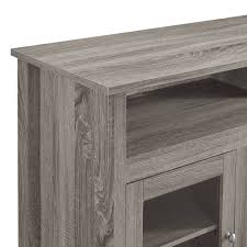 walker edison tall fireplace tv stand for tv s up to 64 espresso com