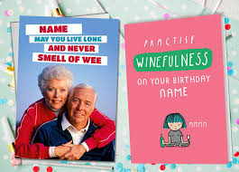 Wishing a happy birthday to the most charming, funny, attractive and rocking personality in town. 69 Funny Birthday Card Messages Wishes Quotes Funky Pigeon Blog