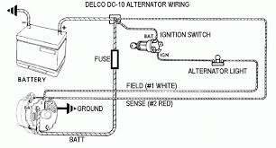 austin motor scene a generic wiring diagram for the delco 10si is shown below