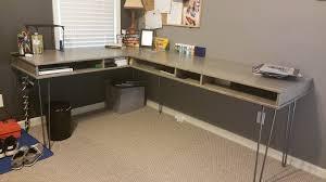 Make Your Own Computer Desk Computer Study Desk Build Part 1 Youtube