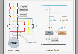 single phase reversing motor wiring diagram for with contactor and contactor wiring diagram a1 a2 at Contactor And Overload Wiring Diagram