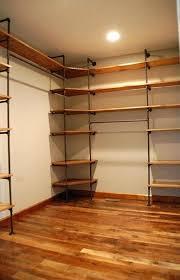 homemade closet shelves closet shelves and rods diy closet shelf and rod