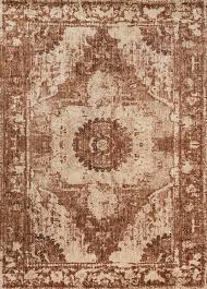 kivi kv 02 sand rust area rug magnolia home by joanna magnolia print area rugs