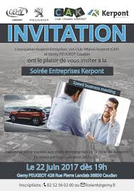 invitation speed business meeting