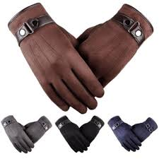 2019 classic men autum winter suede leather gloves mittens driving cashmere thick warm fleece lined thermal male glove from winwin2016 34 26 dhgate com