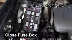 replace a fuse 2004 2008 pontiac grand prix 2004 pontiac grand 6 replace cover secure the cover and test component