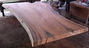 solid wood tables live edge dining table top reclaimed golden acacia of slab tops uk