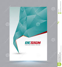 cover page layout template stock vector image  cover page layout template