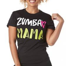 Zumba Mama Tee Zumba Shop Sea