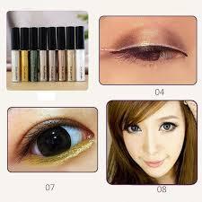 heng fang shiny magic glitter eyeliner waterproof liquid eyeliner shining metallic gold silver eyes liner makeup makeup makup from harrisonjiang
